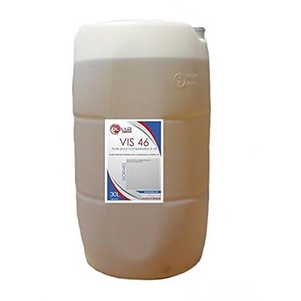 dllub – Aceite mineral para compresor a tornillo 46 – 30 L: Amazon ...