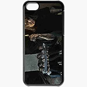 Personalized iPhone 5C Cell phone Case/Cover Skin Adept 31864 Black