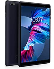Android Tablet Pritom 8 inch Android 10 OS Tablet, 2GB RAM, 32GB ROM, Quad Core Processor, HD IPS Screen, 2.0 Front + 8.0 MP Rear Camera, Wi-Fi, Bluetooth, Tablet PC(Black)