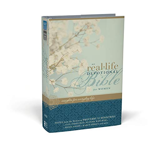 NIV, Real-Life Devotional Bible for Women, Hardcover: Insights for Everyday Life