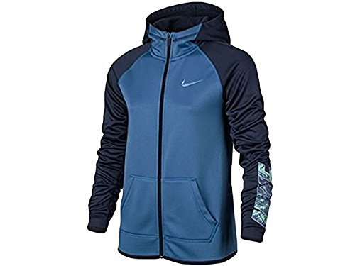raining Full-Zip Hoodie Star Blue 845606-443 (M) (Nike Classic Training Jacket)