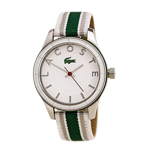 Lacoste Sydney Grosgrain - White/Green Women's watch #2000769