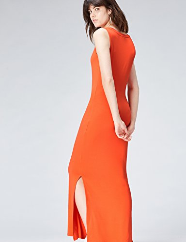 Tomato Longue FIND Femme Robe Rouge Red wqXwP6CR