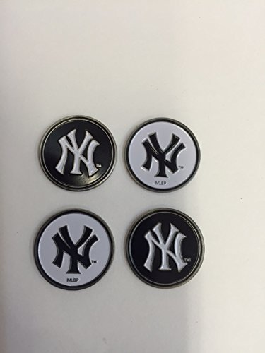 New York Yankees MLB Golf Ball Markers 4-Pack