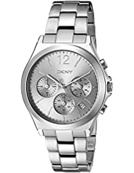 DKNY Womens Parsons Quartz Stainless Steel Casual Watch (Model: NY2451)