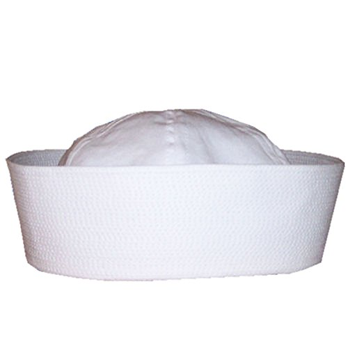 RTD Trading Adult Deluxe Quality White Sailor Hat (X-Large / 60cm)