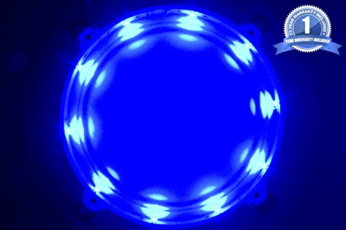 Cornhole LED Board Lights so You Can Play at Night! (set of 2) -Choose from White or Blue- Quality Construction, 1 Year Replacement Warranty! (Blue)