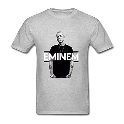 OMMIIY Men's Cool Eminem T-Shirt