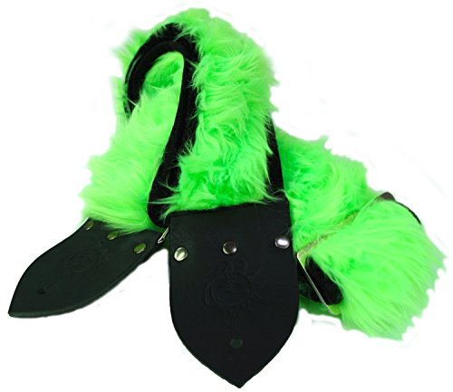 Dog Days Designs ddngf3 Neon Green Faux Fur 3