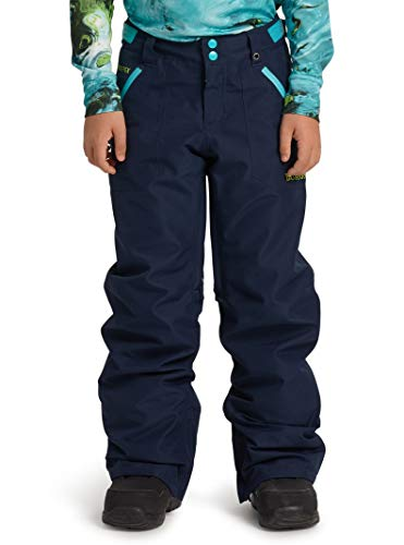 Burton Kids' Gore-tex Stark Snow Pant, Dress Blue, X-Small