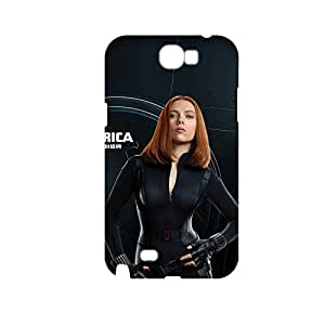 Generic Abstract Back Phone Cover Custom Design With Captain America The Winter Soldier For Samsung Galaxy Note2 Full Body Choose Design 1-2
