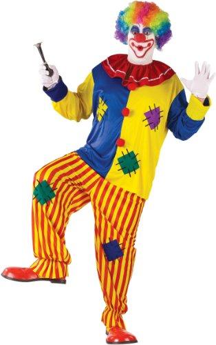 Big Top Circus Costume (Big Top Clown Adult Plus Costume)