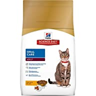 Hill's Science Diet Adult Oral Care Dry Cat Food, 7-Pound Bag