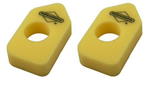 (Briggs & Stratton 698369 Pack of 2 Foam Air Filter)