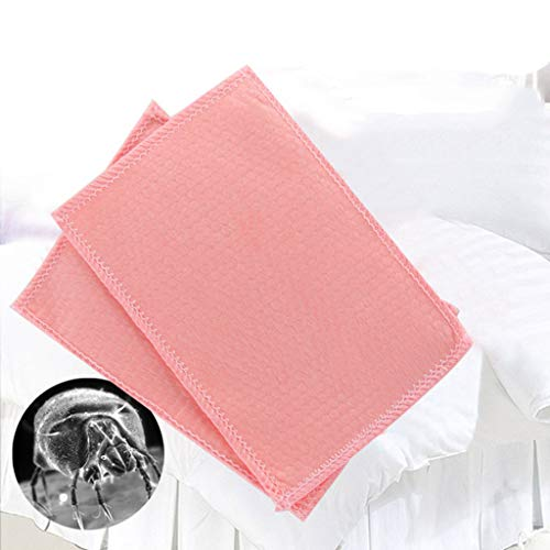 Efaster New 5 Pcs Anti-mite Pad,Efaster Dust Mite Killing Pad Cushion for Home Hotel Killing Small Worms,Carpet Cleaners,Natural, Non-Toxic and Safe (5 PCS)