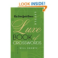 The New York Times Little Luxe Book of Crosswords