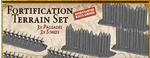 A Song Ice & Fire Miniatures Game: Fortification Terrain Set (Kickstarter Exclusive)