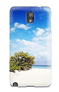 Durable Case For The Galaxy Note 3- Eco-friendly Retail Packaging(nature Beach)