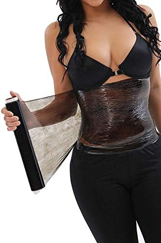 CURVEEZ 2 Plastic Body Wraps for Cellulite Waist Burning, Faja Osmotica (Plastic Rap)