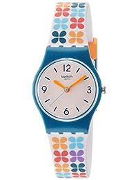 Swatch Women's Paseo De Gracia Multicolored Plastic and Silicone Watch LN151