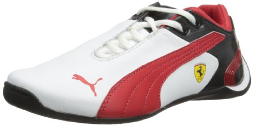 Puma Future Cat M2, Unisex-Child Trainers White/Red/Black