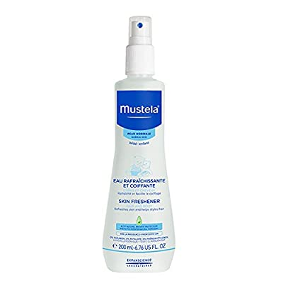 Mustela Skin Freshener, to Freshen Skin and Style Hair, for Baby, with Natural Avocado Perseose, 6.76 Fl. Oz.