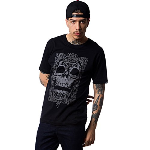 Camiseta Zero Aztec Skull - Preto - M