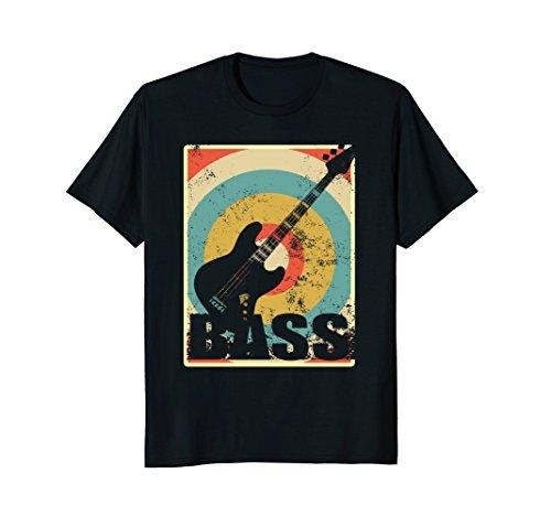 Vintage Electric Bass Guitar T-Shirt
