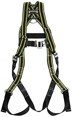 Miller by Honeywell E650/UGN DuraFlex 650 Series Full-Body Stretchable Harness with Mating Buckle Legs Straps, Universal, -