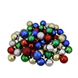 20-pack Mini Christmas Ornaments, Assorted Colors and Styles (with Hooks, Perfect for Small Trees, Office, Cars, Ugly Sweater Contests, Holiday Hair Styles & Beards!)