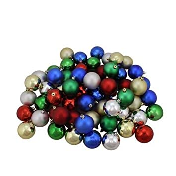 20 pack mini christmas ornaments assorted colors and styles with hooks perfect - Small Christmas Ornaments