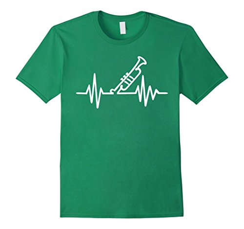 Men's Trumpet frequency T-Shirt Large Kelly ()