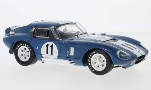 Shelby Cobra Daytona Coupe, No.11, 24h Le Mans, 1965, Model Car,, CMR 1:18