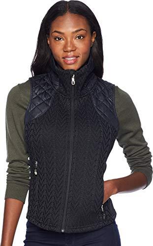 Spyder Women's Lolo Stryke Vest, Black/Black/Black, Small ()