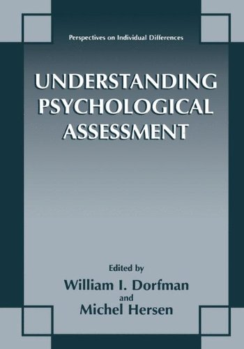 Understanding Psychological Assessment (Perspectives on Individual Differences)