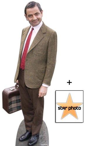 Fan Pack - Rowan Atkinson Lifesize Cardboard Cutout / Standee - Includes 8X10 (25X20Cm) Star Photo