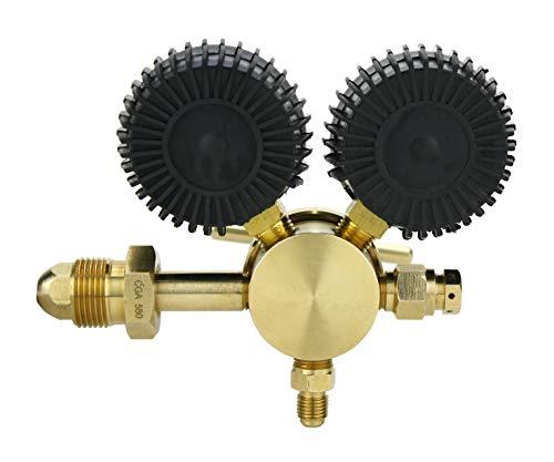 SÜA - Nitrogen Gas Regulator 0-600 PSIG - HVAC Purging - Pressure Charge - 1/4'' Flare Connector by SÜA (Image #2)