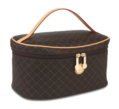 Signature Brown Cosmetic Carrier...