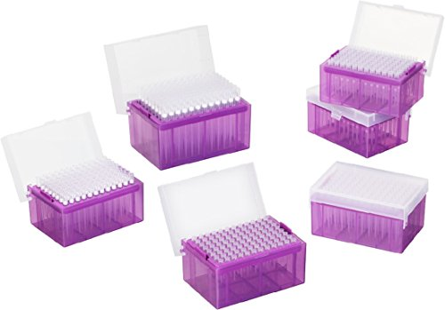 1000ul Pipette Tips - Sterile Pipette Tips, DNAse and RNAse free, Autoclavable, 1000ul (1 rack, 96 tips)