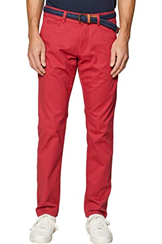 Pantalones Rojo Hombre red Esprit 630 Para TfqxtvY