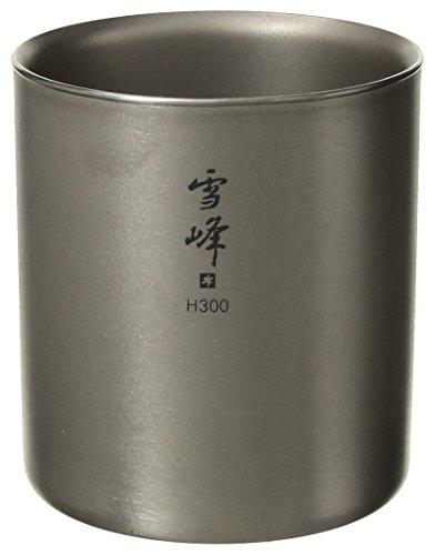 (Snow Peak H450 Titanium Double Walled Stackable Cup)