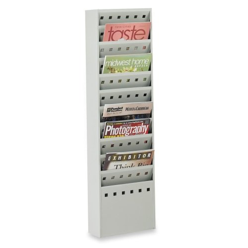 SAF4321GR - Safco Magazine Rack by Safco