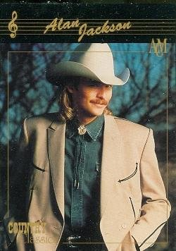Alan Jackson trading card (Country Music) 1992 Collect-A-Card Country Classics #1