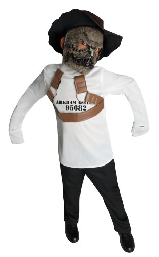 DC Super Villain Collection Scarecrow Straight Jacket Costume, Medium]()