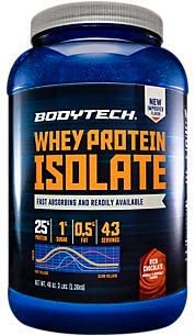 BodyTech Whey Protein Isolate Powder