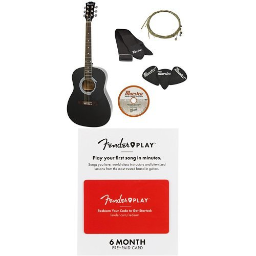 amazon deals on Gibson Parlor Size Acoustic Guitar Starter Pack