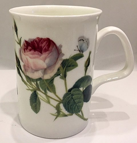 Roy Kirkham England Fine Bone China Palace Garden Rose Lancaster Style Mug | Coffee, Tea, - Rose Mug Garden