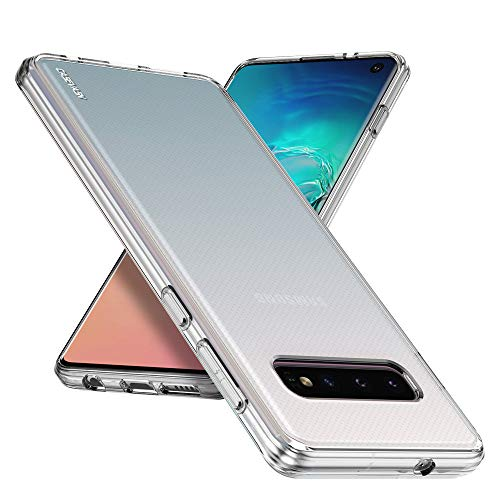 (Galaxy S10 Case, CASEVASN [Slim Thin] Anti-Scratches Flexible TPU Gel Rubber Soft Skin Silicone Protective Case Cover Compatible for Samsung Galaxy S10)