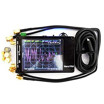 Ainany Antenna Network Analyzer 50KHz - 900MHz UHF Digital Display Screen Professional VHF MF
