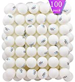 100 White 3-Star 40mm Table Tennis Balls Advanced Training Ping Pong Ball